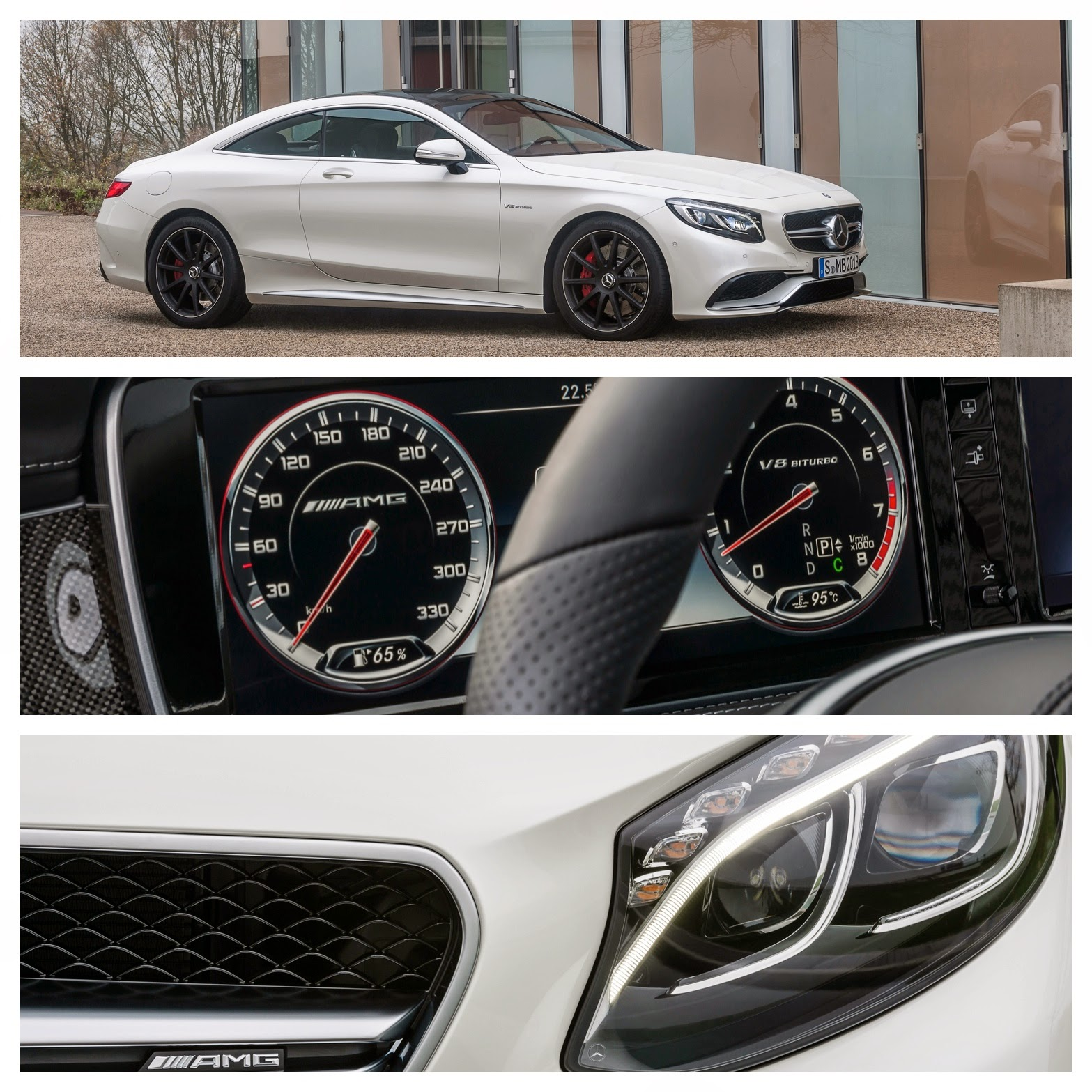 The New Mercedes S63 Coupe 4MATIC AMG