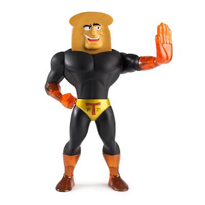 San Diego Comic-Con 2017 Exclusive Ren and Stimpy Powdered Toast Man Medium Vinyl Figure by Kidrobot