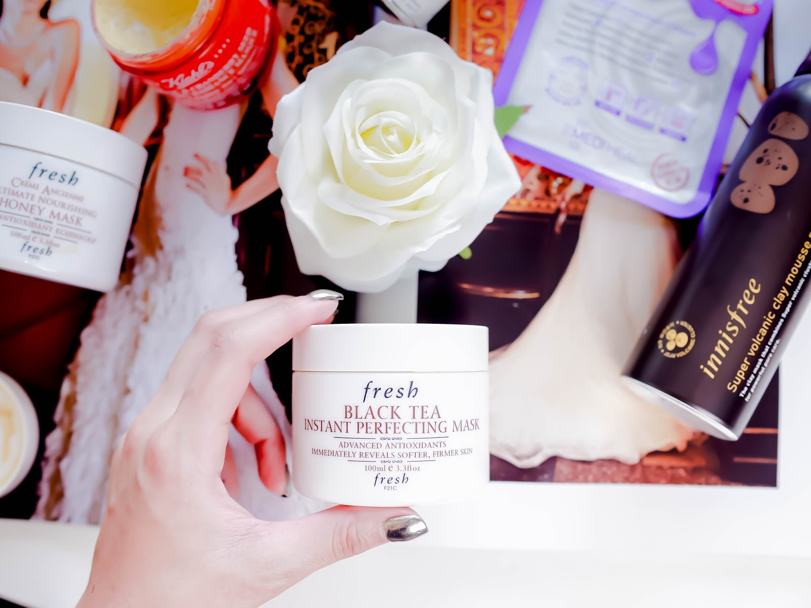fresh black tea instant perfecting mask, review, singapore