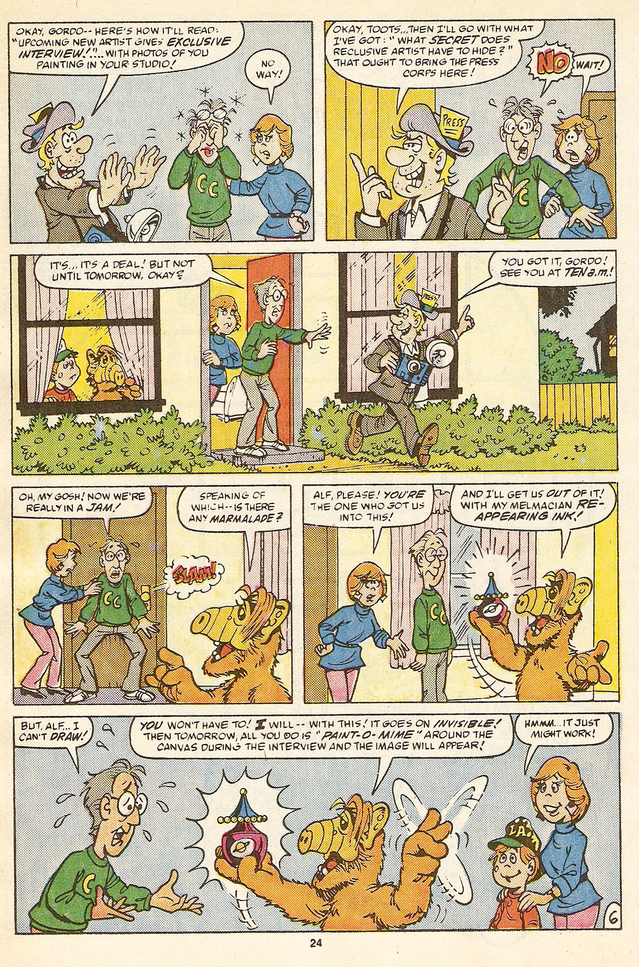 Read online ALF comic -  Issue #17 - 26