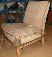 renowacja fotela art deco krok po kroku