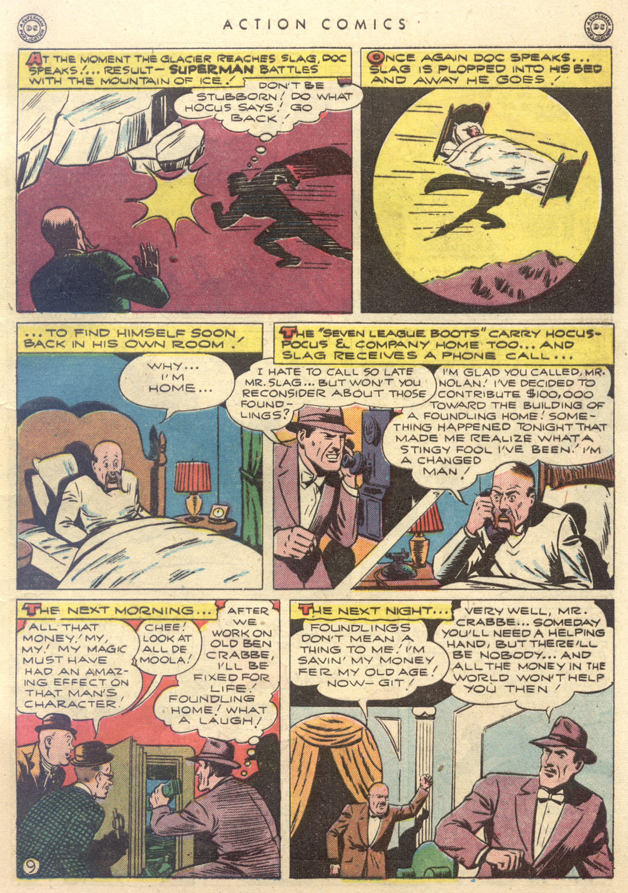 Read online Action Comics (1938) comic -  Issue #88 - 11