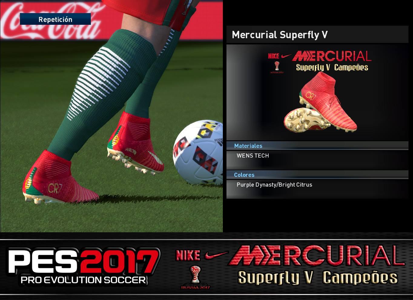 2d9e1a58db8 ultigamerz  PES 2017 Nike Mercurial Superfly V Cristiano Ronaldo ...