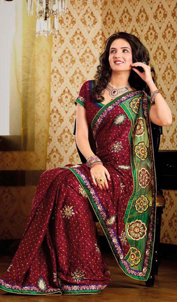 Bollywood Sarees Navels