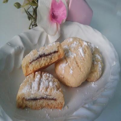 nutellalı biskrem kurabiye tarifi
