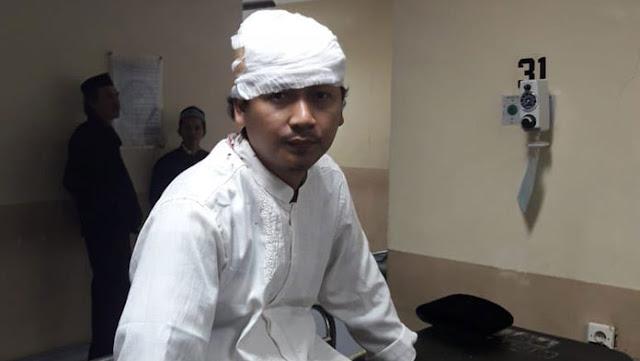 Pimpinan Ponpes di Cianjur Dibacok Orang Tak Dikenal Saat Subuh