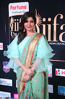 Samantha Ruth Prabhu Smiling Beauty in strange Designer Saree at IIFA Utsavam Awards 2017  Day 2  Exclusive 40.JPG