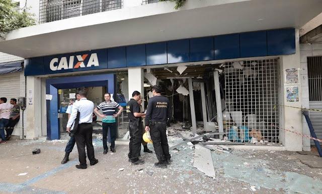 Assaltantes usaram cinco tipos de balas durante ataque a banco em Carpina