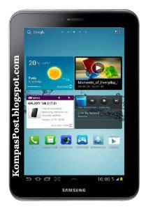 Harga dan Spesifikasi Samsung Galaxy Tab 2 7.0 Espresso 8 GB