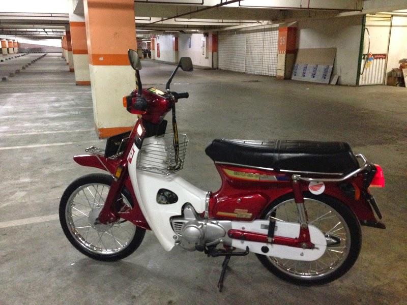Modifikasi Motor Honda C800 Super Cub Unik Dan Gaul