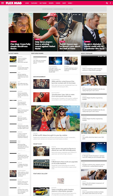 Flex Mag WordPress News Theme