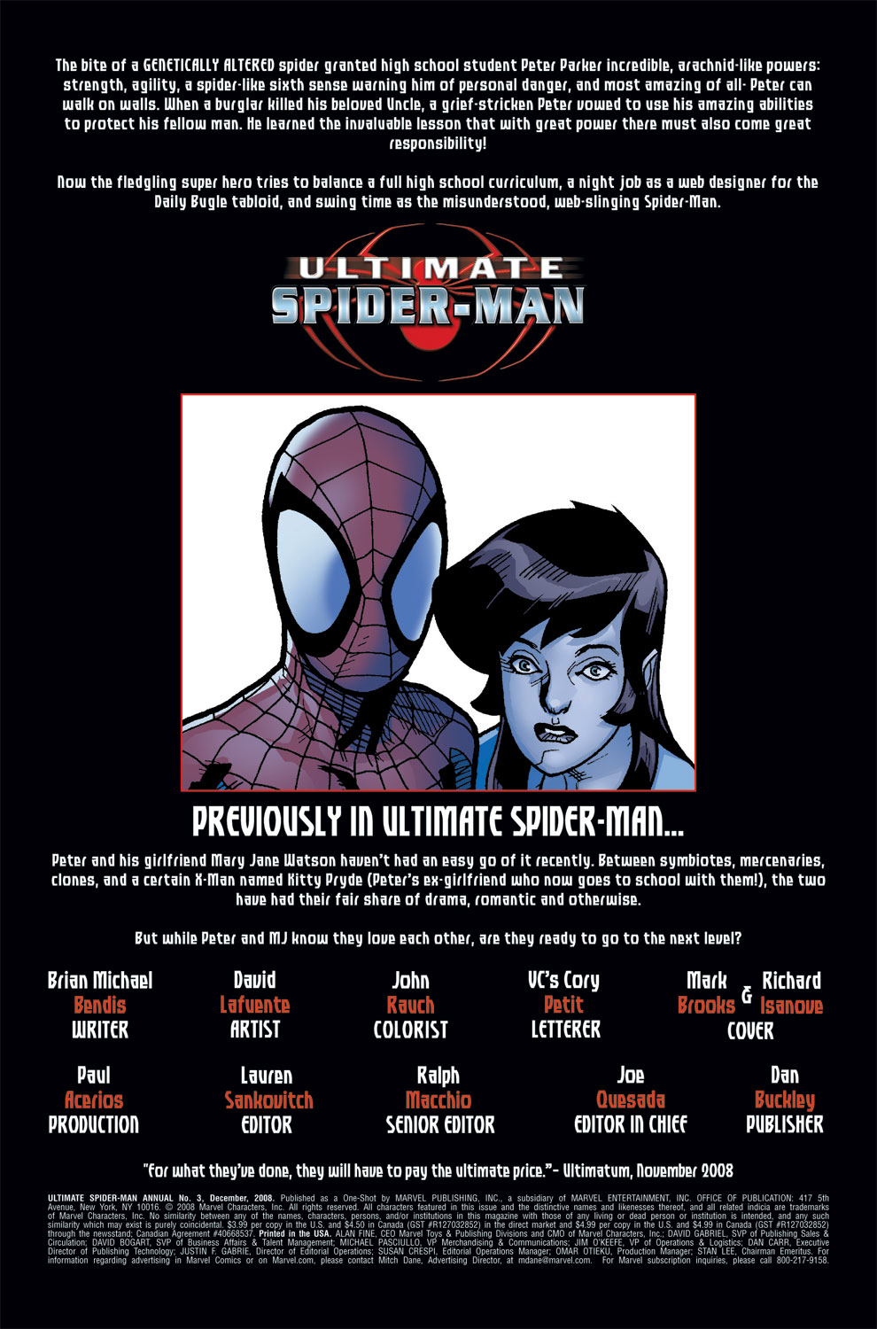 Read online Ultimate Spider-Man (2000) comic -  Issue # Annual 3 - 2
