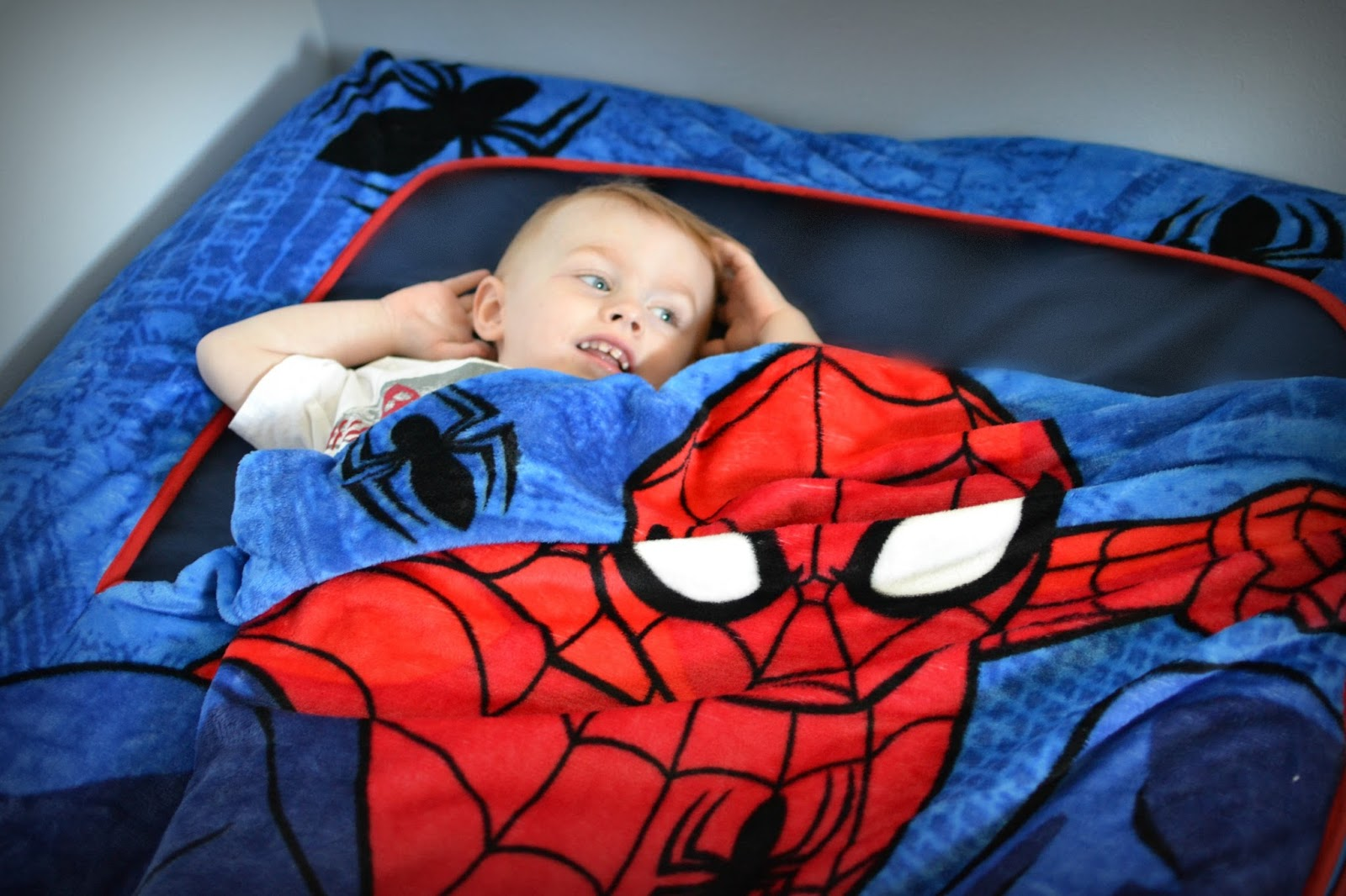 Lovely Complete your little Spider Man fan us bedroom with the Spider Man Pillow Buddy