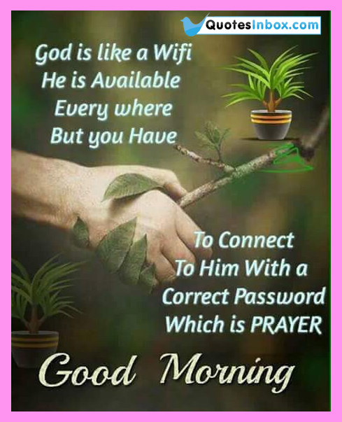 Best Good Morning Prayer To God Quotation English Good Morning