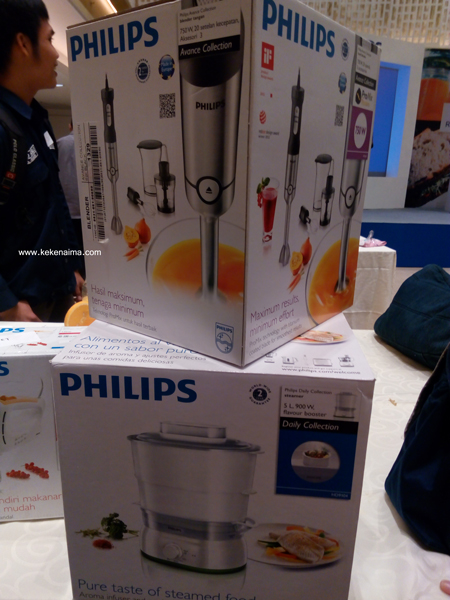 inovasi dapur philips, philips food steamer, philips hand blender, perlengkapan dapur philips