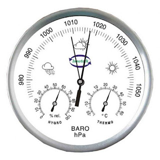 Jual Analog Thermohygrometer with Barometer Innotech THB-132