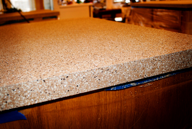 I Should Be Mopping The Floor Kitchen Countertops Part One More. Rustoleum Countertops  Transformations ...