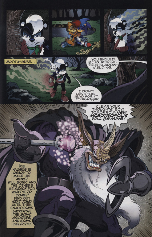 Read online Sonic The Hedgehog comic -  Issue #222 - 19