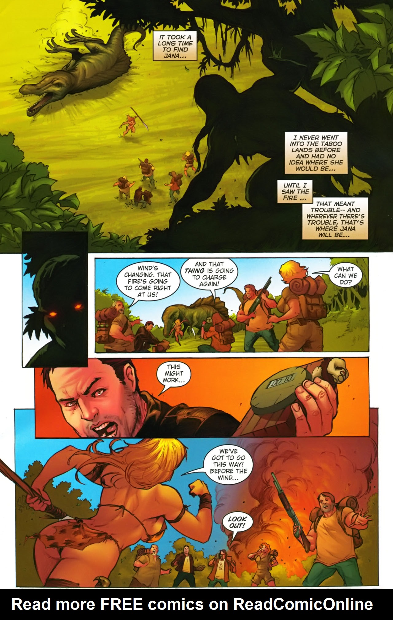 Read online Jungle Girl comic -  Issue #2 - 11