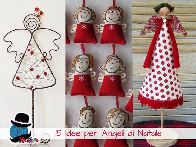 Angeli Lavoretti Di Natale.15 Angeli Di Natale Kreattivablog