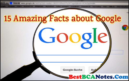 15 Amazing Facts about Google