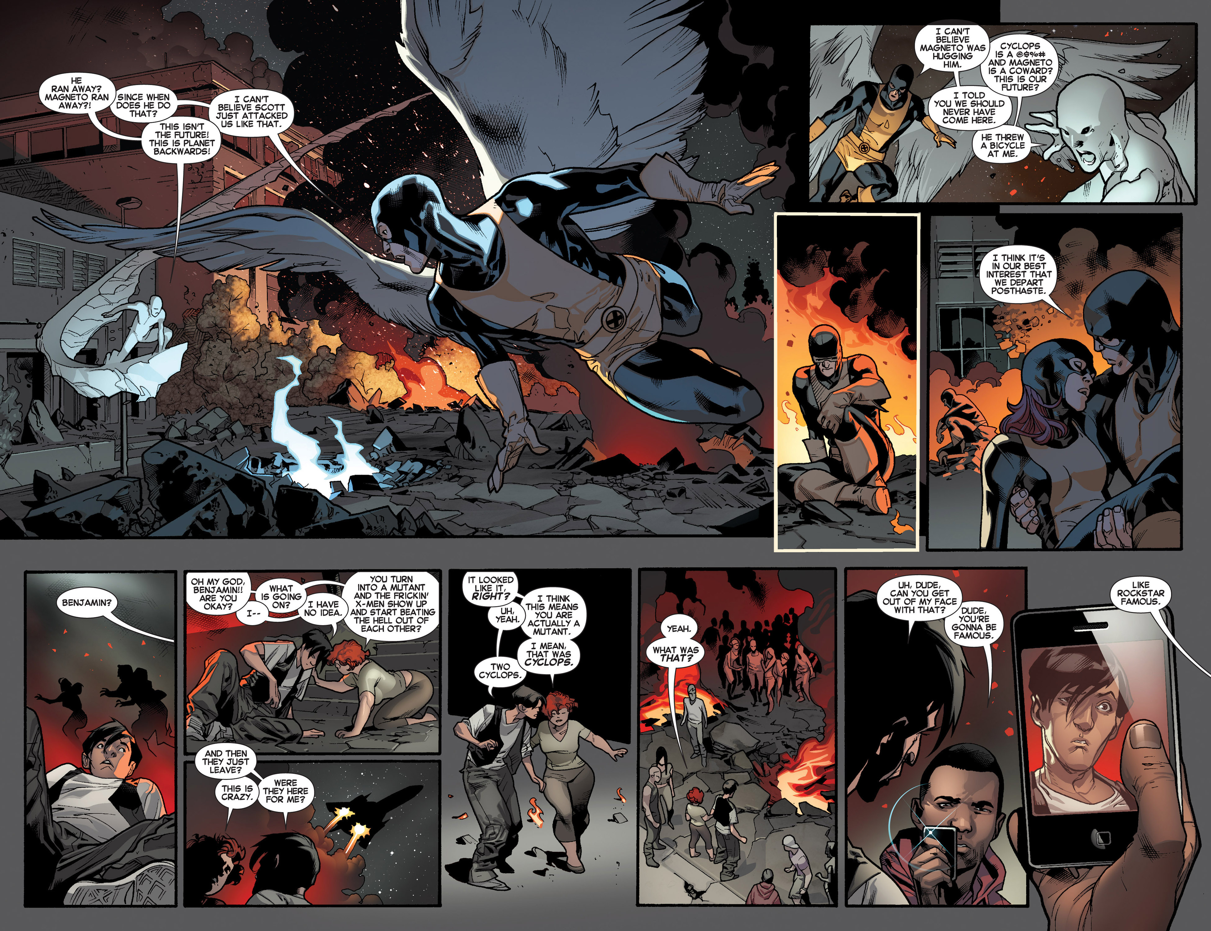 Read online All-New X-Men (2013) comic -  Issue #4 - 9