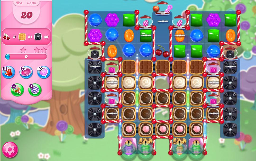 Candy Crush Saga level 6583