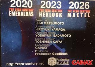 تقرير فيلم القرن صفر: هيرلوك الثاني Zero Seiki Movie 2: Herlock