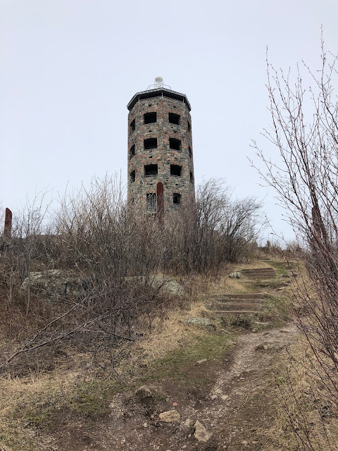High above Duluth, Enger Tower yields amazing views of the city, Lake Superior and surrounding green spaces.