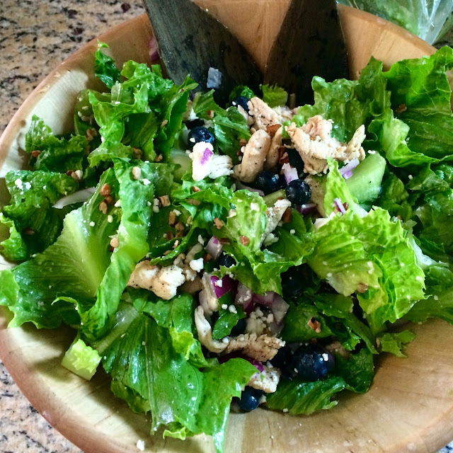 Blueberry chicken salad healthy recipes summer