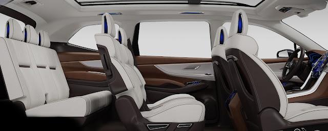 NEW 2018 Subaru Ascent SUV Interior