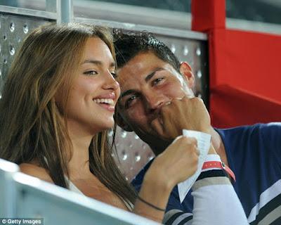 ''I Had Sex with Cristiano Ronaldo while He was Still with Irina Shayk!'' - Playboy Bunny