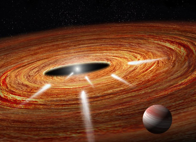 Hubble detects 'exocomets' taking the plunge into a young star