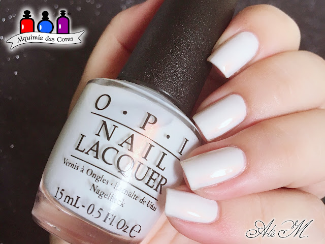 OPI, Oh My Majesty, SBS16, Sugar Bubbles, OPI Alice Through the Looking Glass 2016, Off-White, Branco, Alquimia das Cores, Alê