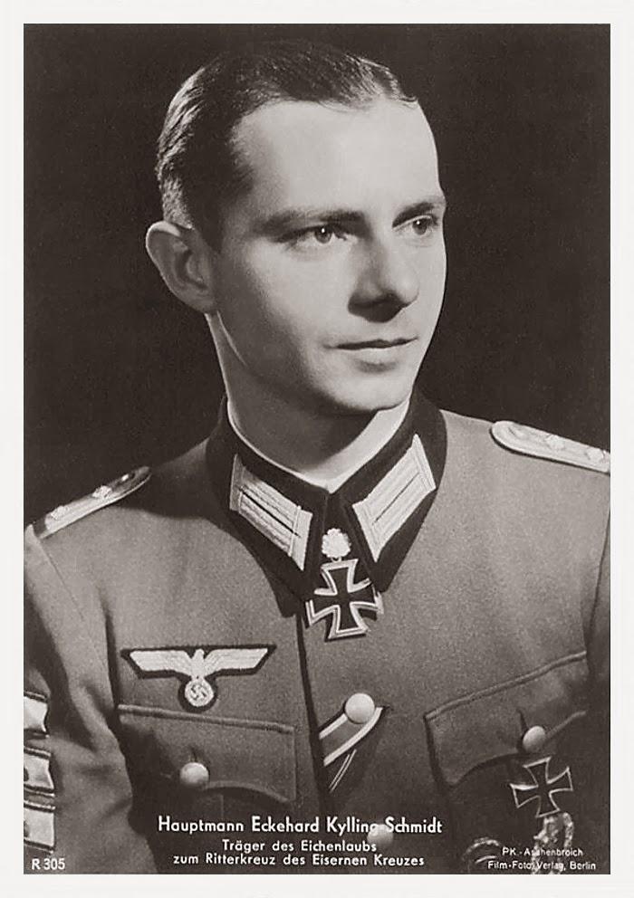 Ekkehard Kylling-Schmidt Ritterkreuzträger Knight Cross Holder Postcard