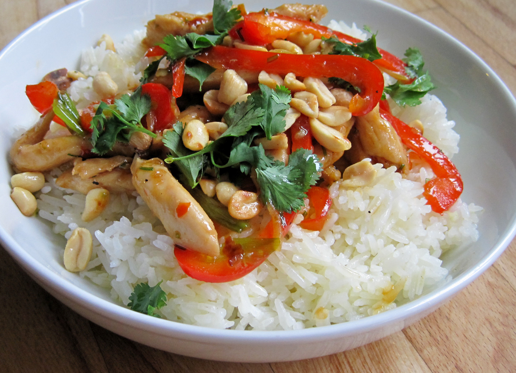 Szechuan Stir-fry with Jasmine Rice