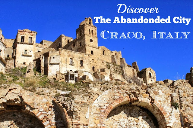 abandoned cities-craco-italy