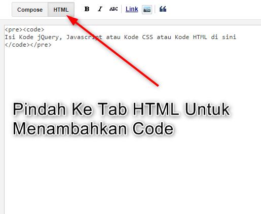 Cara Membuat Syntax Highlighter Keren di Blogger