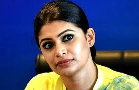 UNP MP Hirunika Premachandra was strongly warned by the Colombo High Court trial-at-bar
