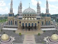 Masjid Islamic Center Samarinda. Kalimantan Timur