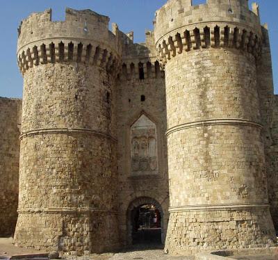 Portas das muralhas de Rodes