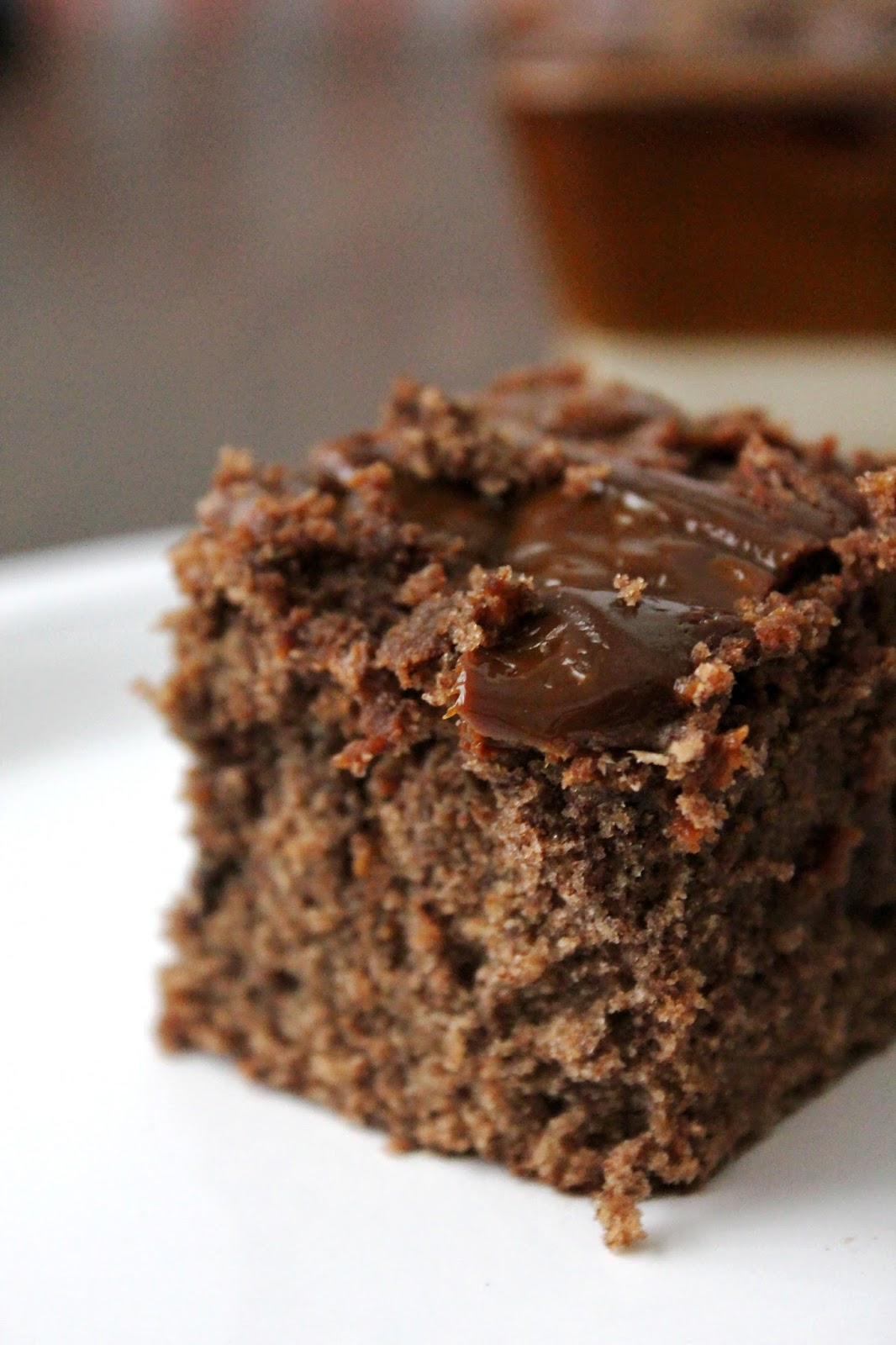 dulce de leche cake brownie