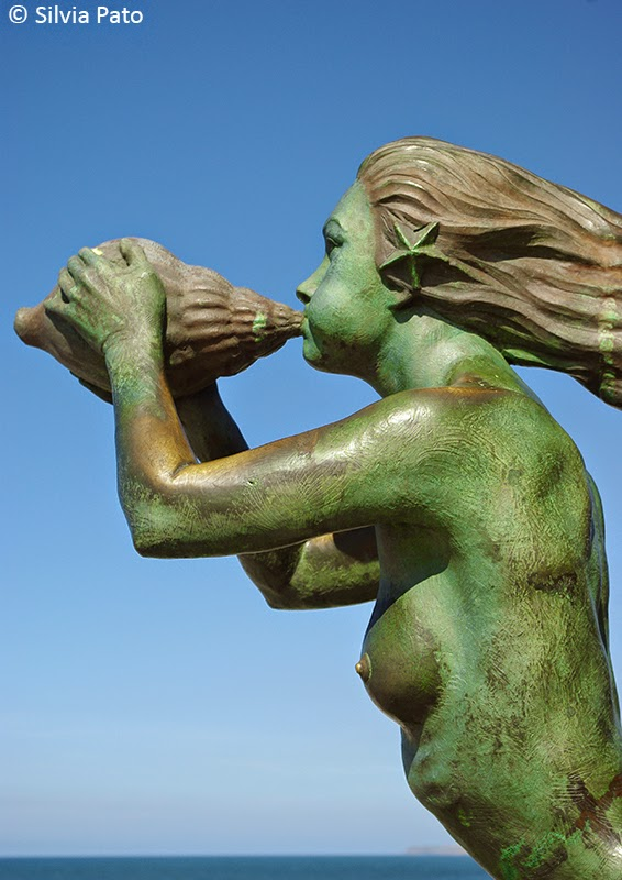 Escultura península de La Magdalena Santander