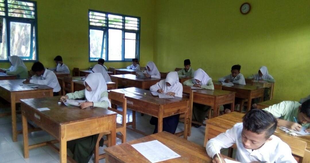 Meski Puasa Pelaksanaan Ujian Kenaikan Kelas Ukk Tetap Lancar Mts Al Huda Ngrejeng