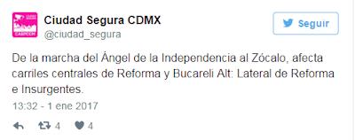 """Comienza el año con marchas contra el """"gasolinaso"""" en la CDMX"""