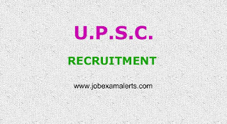 UPSC Recruitment 2018-19