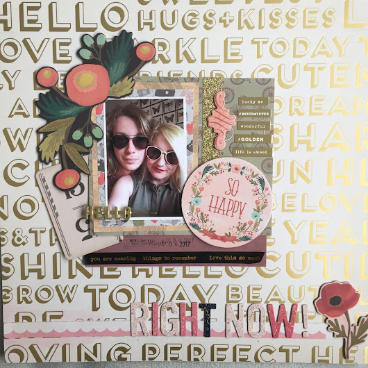 Right Now || Scrapbook Layout