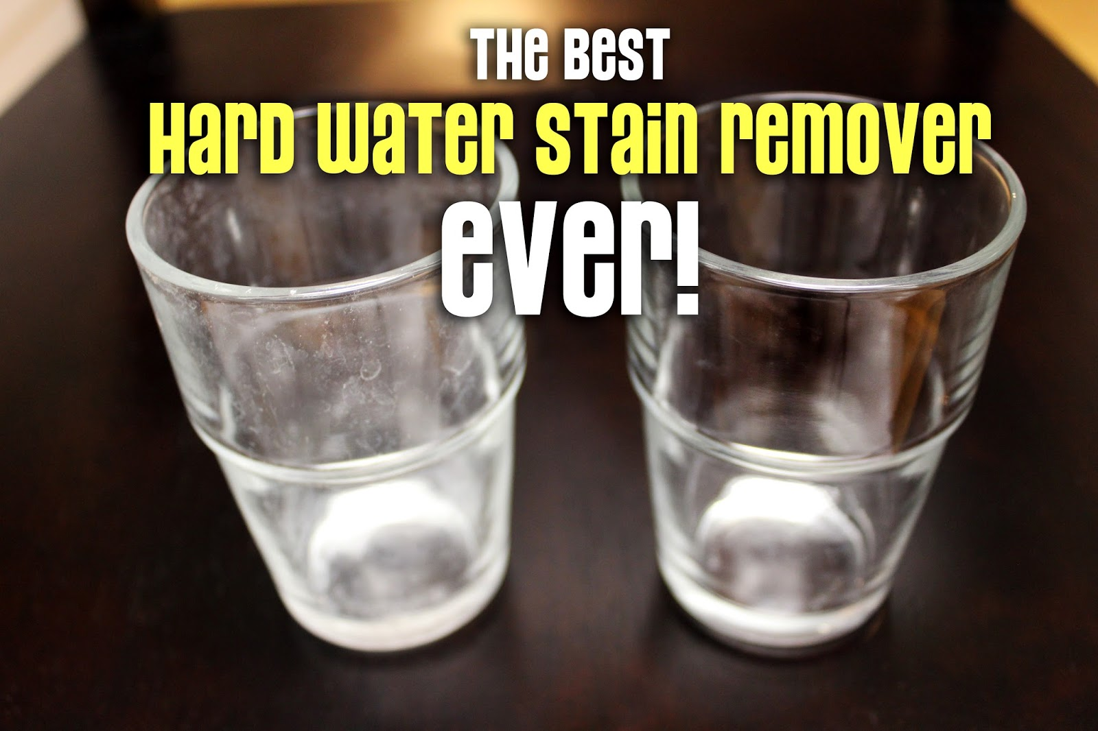 The Best Hard Water Stain Remover Lou Lou Girls
