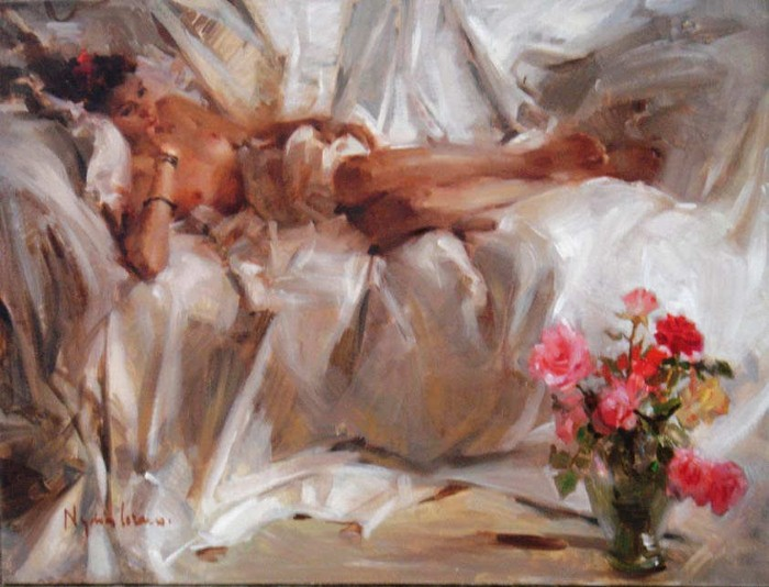 Масляная живопись. Nydia Lozano 21