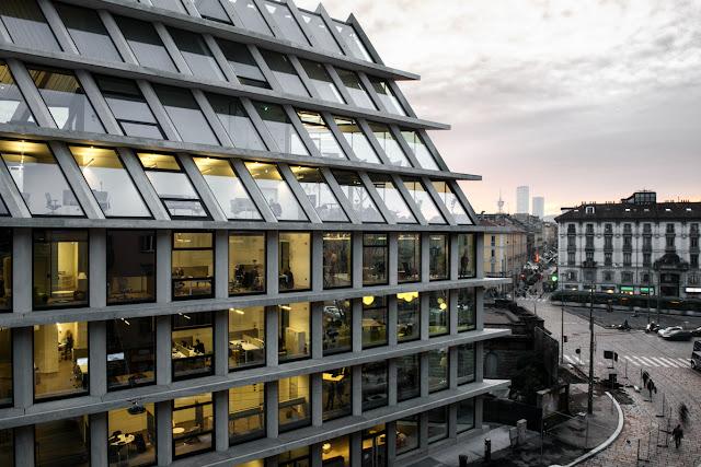 Architettura Microsoft House a Milano